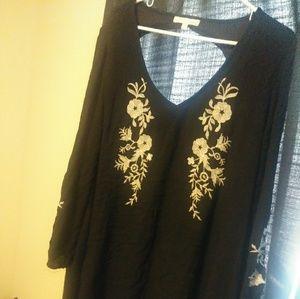 Buy 2 get 1 free really cute black dress.